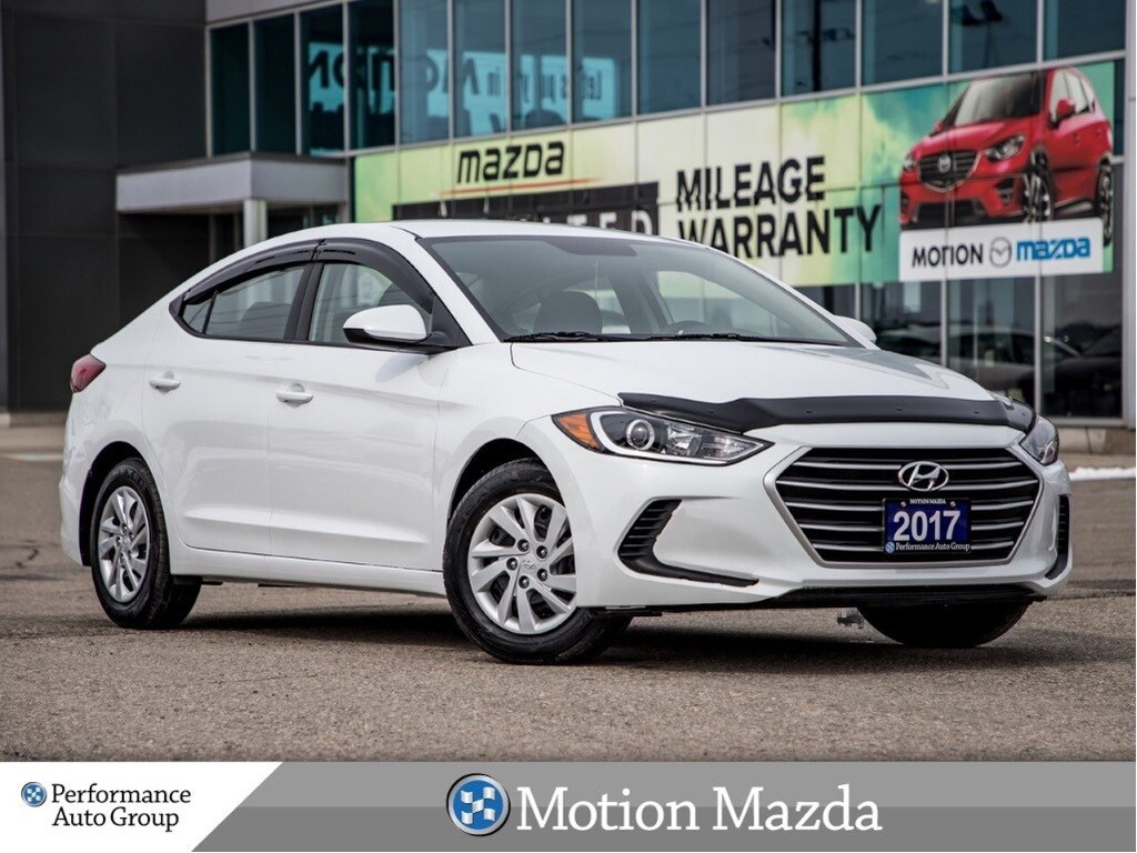 Pre Owned 2017 Hyundai Elantra L 6spd Package Winter Tires